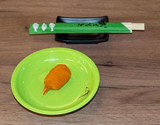 Running Sushi Restaurant Fürth Frittierte Krebszangen