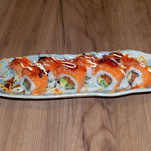 Galerie Running Sushi Restaurant Fürth Sushi Lach Spezial Rolle